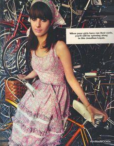 Sixties Fashion, Retro Fashion, Vintage Fashion, Cute Dresses, Summer Dresses, Seventeen Magazine, Logan, Fashion Brand, Glamour