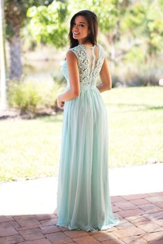 mint special occasions dress