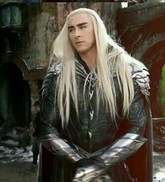 Lee pace as elvenking : Thranduil, bts of Bofta by peter jackson