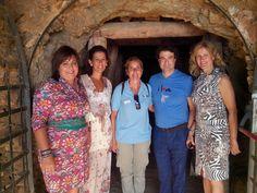 Pepe Rodriguez, Estrella Michelin en su Restaurante El Bohio en Illescas (Toledo), visitando el Parque Minero de La Unión