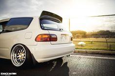 Slammed & Fitted Stanced Honda Civic EG Hatchback (7)