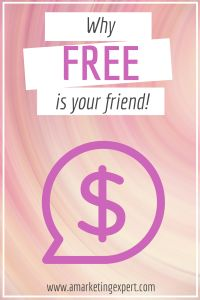 Why #FREE is your friend: Part 2 #book #marketing #strategy