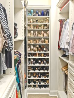 shoe storage tip store shoes heel to toe not only does it make them easy to see it also saves space too