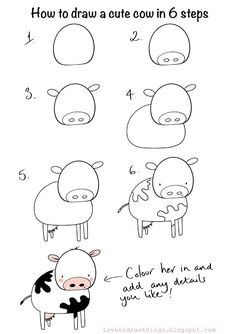 Love To Draw Things: 6 steps