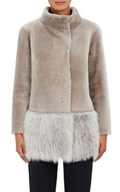 Women's Lamb Shearling Coat