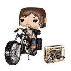 Figurine Pop! The Walking Dead Daryl Dixon et Chopper