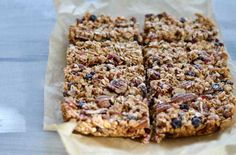Fruit & Nut Granola Bars even for late night snacking from miraclerecipes.com