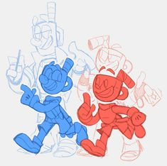 Cartoon Characters Sketch, Cartoon Art, Character Design References, Game Character, Cuphead Game, Drawing Body Poses, Cartoon Video Games, Deal With The Devil, Bendy And The Ink Machine