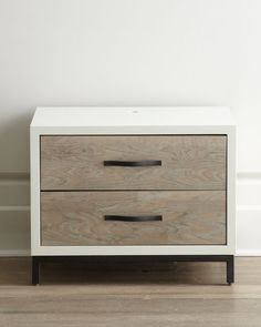 Modern bedroom - Shana Nightstand-Home and Garden Design Ideas Furniture Projects, Furniture Decor, Bedroom Furniture, Furniture Design, Furniture Storage, Furniture Sets, Bedroom Decor, Hooker Furniture, Night Table