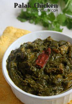 Palak ChickenChicken & Spinach Curry