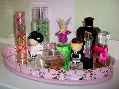 from granny to girly diy perfume tray