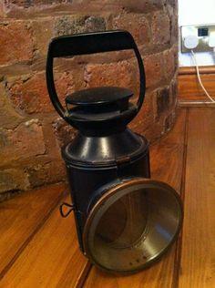 vintage railway lamp | eBay