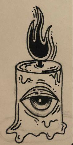 Indie Drawings, Dark Art Drawings, Art Drawings Sketches Simple, Tattoo Design Drawings, Doodle Drawings, Tattoo Sketches, Easy Drawings, Drawing Ideas, Arte Grunge