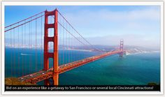 Bid on a San Francisco getaway during our live auction! This amazing trip includes weekend accommodations at the Mark Hopkins Intercontinental Hotel, a dinner boat cruise, city or wine tour by limo, tickets to a Giants game and MORE! Send in your pre-bid today! Deadline for pre-bidding is Oct. 9th. You do not need to attend the event to pre-bid on live auction items! #auction #SanFrancisco