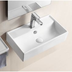 Buy the Nameeks Caracalla Hole White Direct. Shop for the Nameeks Caracalla Hole White Caracalla Ceramic Wall Mounted Bathroom Sink with 1 Faucet Hole and Overflow and save. Small Bathroom Sinks, Small Sink, Small Vanity, Tiny Bathrooms, Modern Bathroom, Bathroom Ideas, Basement Bathroom, Redo Bathroom, Gold Bathroom