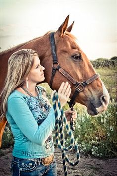horse and owner  Emily Hudson Photography © 2012