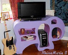 Meuble TV dans le salon
