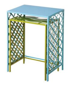 Look what I found on #zulily! Metal Nested Side Table Set by Evergreen #zulilyfinds