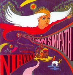 Nirvana - The Story of Simon Simopath (1967) It traces the story from life to death of the titular hero via a series of short songs. The story deals with a boy named Simon Simopath who dreams of having wings. He is unpopular at school, and after reaching adulthood (in 1999) goes to work in an office in front of a computer. They knew about computers in 1967?
