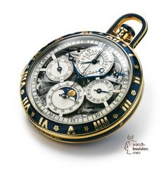 Jaeger-LeCoultre 1928 Grand Complication Pocket Watch