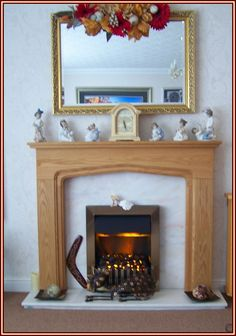 Here are a couple of pictures of the fireplace we had delivered Christmas week. We love it and can't recommend your service enough, we are so impressed with your overall service the fireplace is wonderful we're both thrilled with it. - Jackie Nicholson (www.oakfiresurrounds.co.uk)