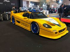 Want to say thank you to everyone who came to visit us at Tokyo Auto Salon Tokyo, Rauh Welt, Liberty Walk, Ferrari, Vehicles, Horses, Skirt, Cars, Autos