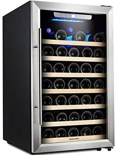 Kalamera 50 Bottle Compressor Wine Refrigerator Single Zone with Touch Control *** Read more reviews of the product by visiting the link on the image.Note:It is affiliate link to Amazon.