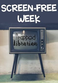 Help your school community examine the role of devices in their lives during Screen Free Week. Get ideas for implementing Screen Free Week in your elementary school, library, or classroom. School Library Lessons, Elementary School Library, Library Skills, Elementary Schools, History Education, Teaching History, Social Studies Notebook, Library Organization, Library Events