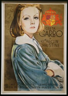 Greta Garbo in Konigin Christine (Greta Garbo in Queen Christina)