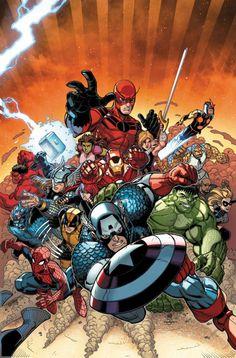 Avengers vs. X-Men #10 by Nick Bradshaw