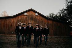Rustic Winter Wedding – Little Pink Texas Little Pink Texas Western Groomsmen, Country Groom Attire, Country Wedding Groomsmen, Rustic Groomsmen Attire, Rustic Wedding Groomsmen, Country Wedding Photos, Groom And Groomsmen, Cowboy Wedding Attire, Wedding Rustic
