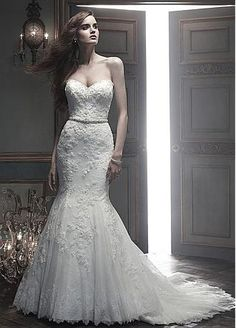 288e91c94dc Buy discount Charming Tulle Mermaid Sweetheart Neckline Natural Waistline Wedding  Dress at Dressilyme.com Wedding