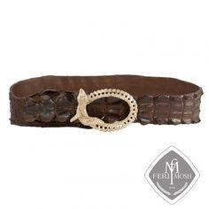 FERI MOSH Exotic - Marcella - Belt Exotic, Belt, Wallet, Luxury, Metal, Leather, Accessories, Design, Belts