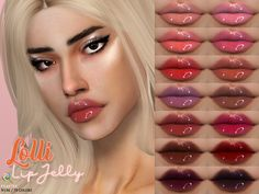 Shiny lipgloss in 70 colors. Found in TSR Category 'Sims 4 Female Lipstick'- lipgloss in 70 colors. Found in TSR Category 'Sims 4 Female Lipstick' Shiny lipgloss in 70 colors. Found in TSR Category 'Sims 4 Female Lipstick' Sims Four, Sims 3, The Sims 4 Pc, Sims 4 Mm Cc, Sims 4 Cas, Los Sims 4 Mods, Sims 4 Game Mods, Vêtement Harris Tweed, Sims 4 Cc Eyes