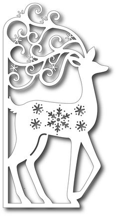 Tutti Designs - Cutting Die - Scrolly Deer Edge
