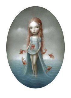 Nicoletta Ceccoli - Eliza On The Shore