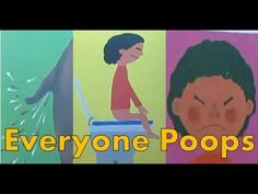 Everyone Poops: by Taro Gomi - Read by GaryTheCoconut