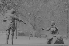 Irish Famine Memorial on Cambridge Common