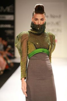 Astha and Sidharth Designers Lakme Fashion Week Winter/Festive 2012 Day-1 | Gen Next Designer on LFW-2012 | Fashion Asian