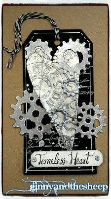 Steampunk tag I made for sssmondaychallenge