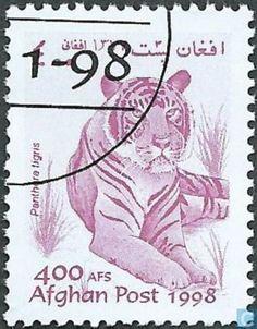 Postage Stamps - Afghanistan [AFG] - tiger