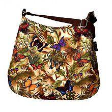 Veľké tašky - kabelka Miss Beauty Butterflies - 3986931_