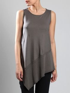 TWO-FABRIC COTTON TOP