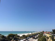 The view on top of the Hurricane Restaurant in Pass-A-Grille Clearwater Beach Florida, Florida Beaches, Pass A Grille Beach, St Petersburg Fl, St Pete Beach, Beach Clothes, Crystal Clear Water, Beach Outfits, Beachwear