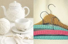 Pletené vešiaky a čajník Winter Time, Mugs, Tableware, Dinnerware, Tumblers, Tablewares, Mug, Dishes, Place Settings