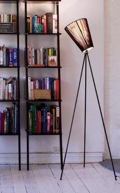 Oslo Wood floor lamp, Floor lamps, Leading designers, Contemporary lighting, Holloways of Ludlow