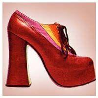 High heels, flats, platforms, wedges, clogs and stilettos. I even had a pair of platform tennis shoes