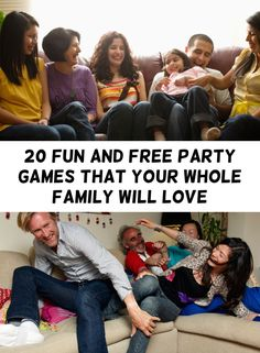 Insanely Simple Party Games That Are Fun At Any Age The family that plays together stays together. Here's some entertainment for your next gathering.The family that plays together stays together. Here's some entertainment for your next gathering. Group Games, Group Activities, Activity Games, Family Games, Games For Big Groups, Leadership Activities, Youth Groups, Family Family, Family Reunions