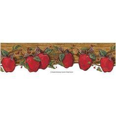 Apples on Coat Wallpaper Border