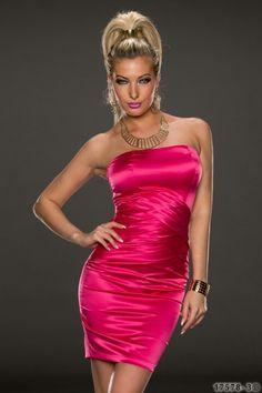 Strapless Dress Formal, Formal Dresses, Maxi Robes, Versace, One Shoulder, Bodycon Dress, Fashion, Elegant, Dusty Rose Dress